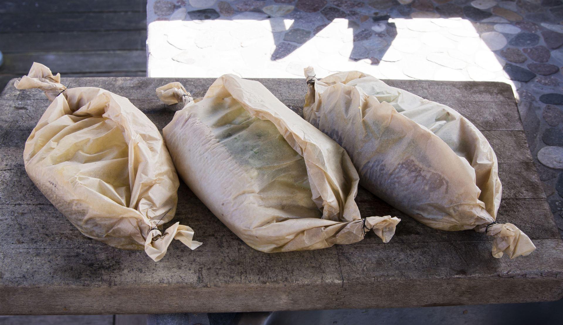 Grillen Ohne Alufolie Blätter Und Woks Als Alternative